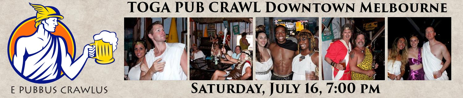2016 Toga Pub Crawl in Melbourne, FL