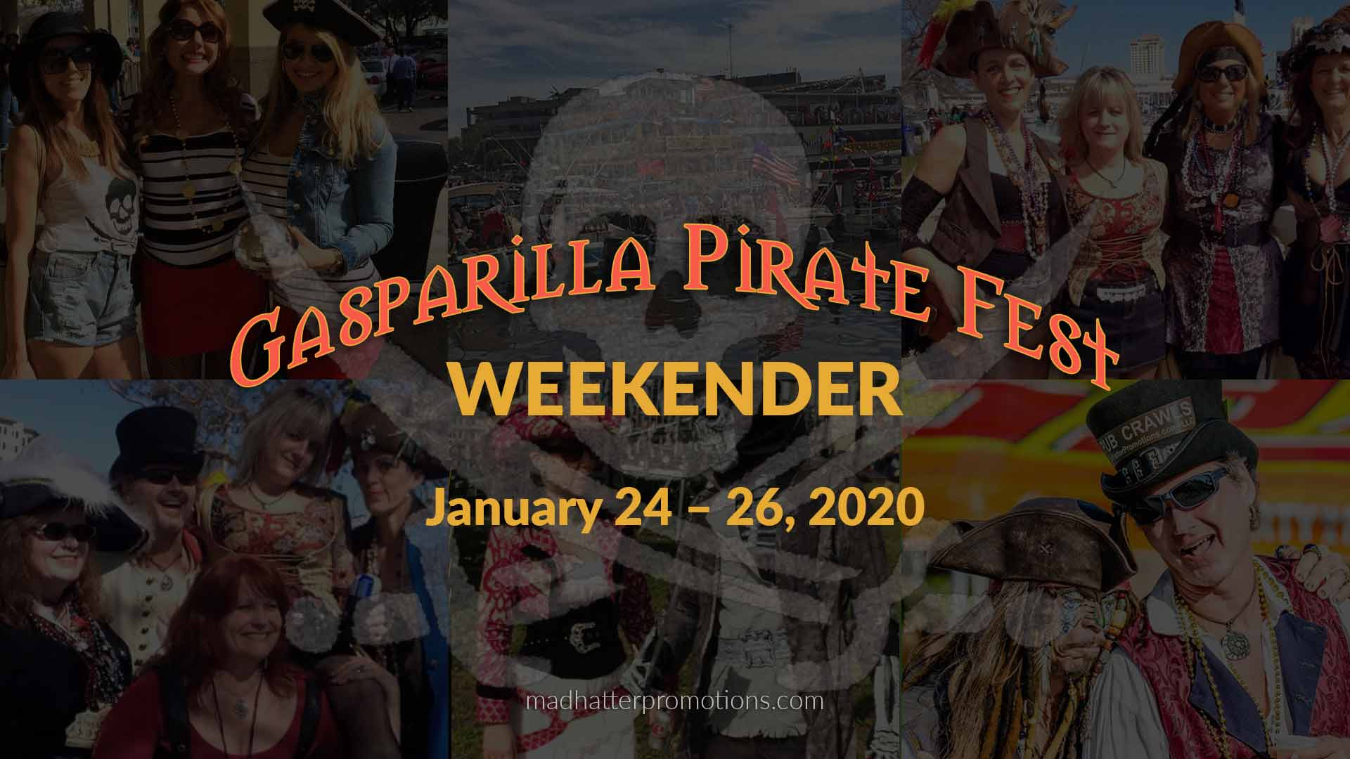 Gasparilla Pirate Fest Parade Road Trip 2020