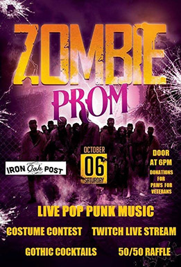 Zombie Prom 2018 Melbourne Florida